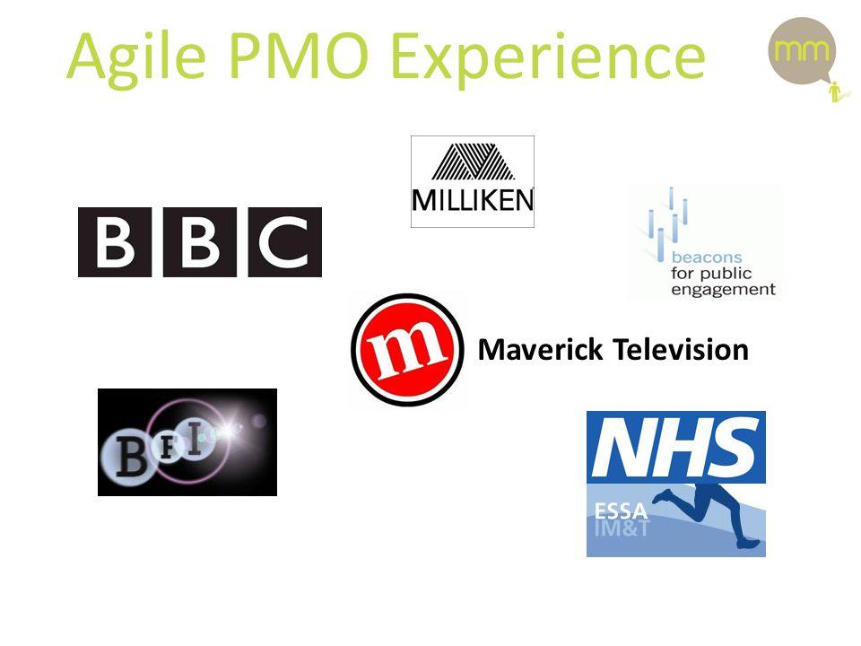 Agile PMO Experience Maverick Television