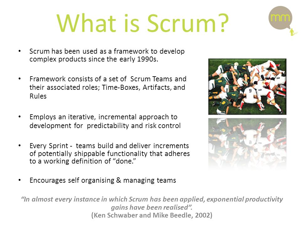 What is Scrum.