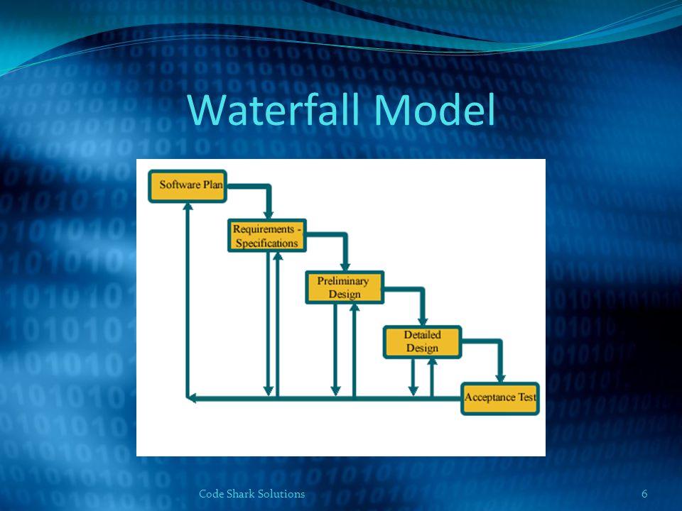 Waterfall Model Code Shark Solutions6