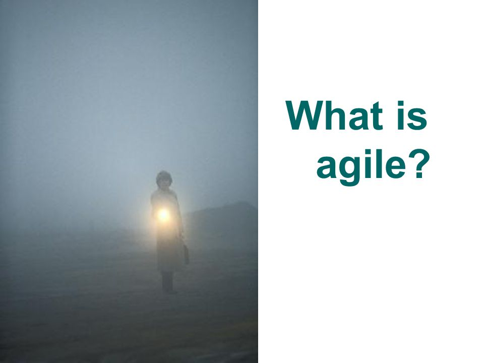 Agile Defined… Uses continuous stakeholder feedback to deliver high-quality, consumable code through user stories and a series of short, stable, time-boxed iterations.