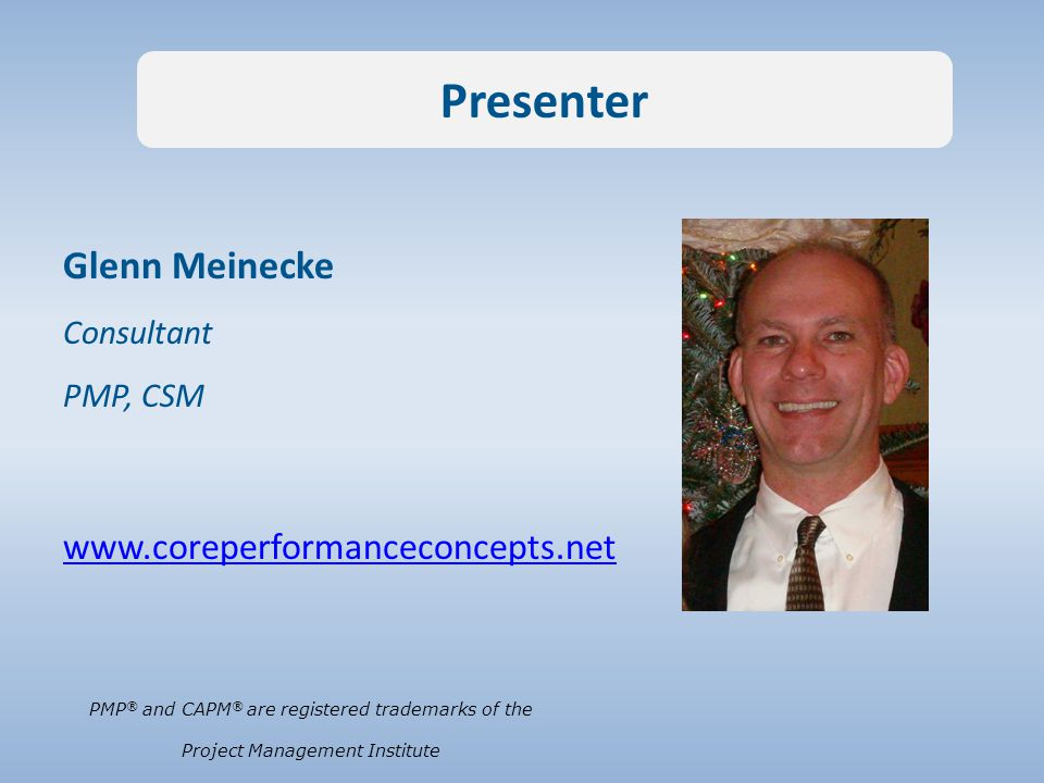 Diane C.Altwies, MBA, PMP CEO, Core Performance Concepts Inc.