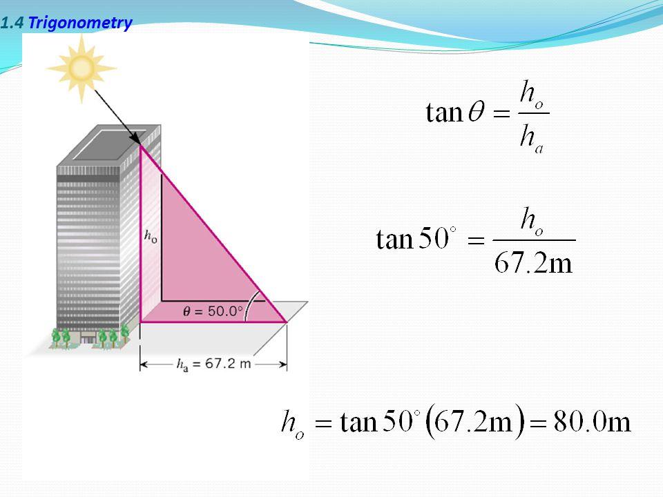 1.4 Trigonometry