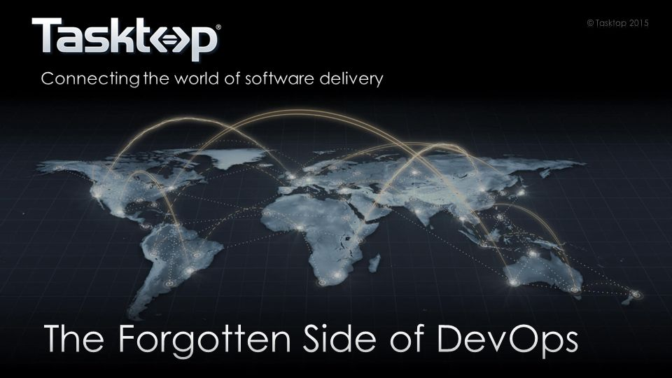 Help people deliver software just a little bit better @DavidJWest   dwest@Tasktop.com