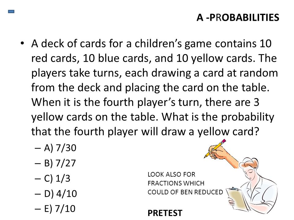 What is the probability of drawing a heart from a well-shuffled standard deck of playing cards.
