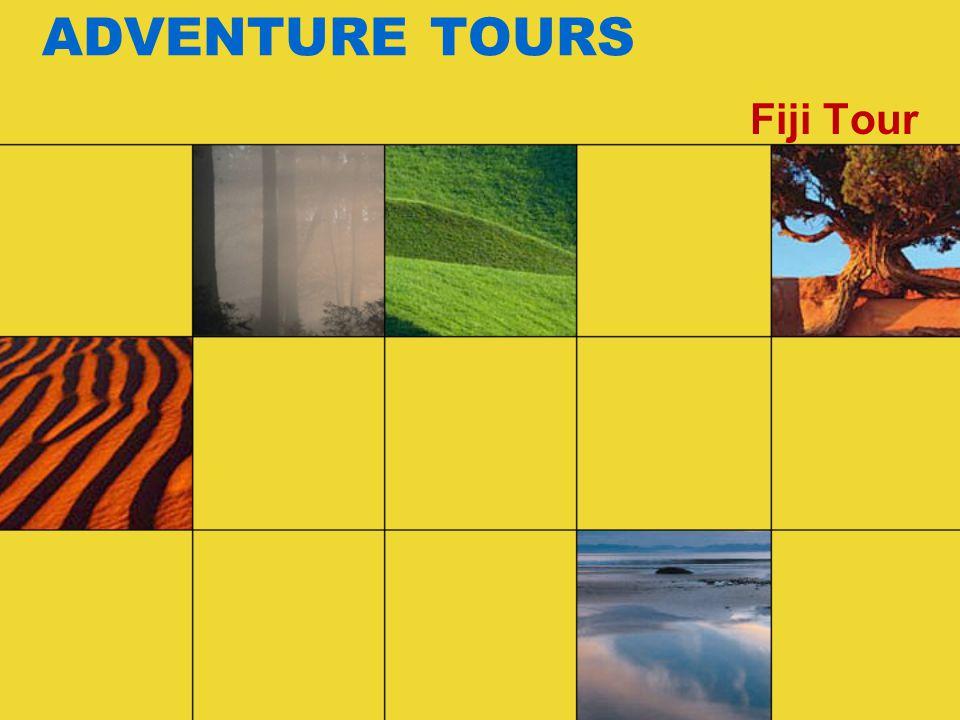 ADVENTURE TOURS Fiji Tour