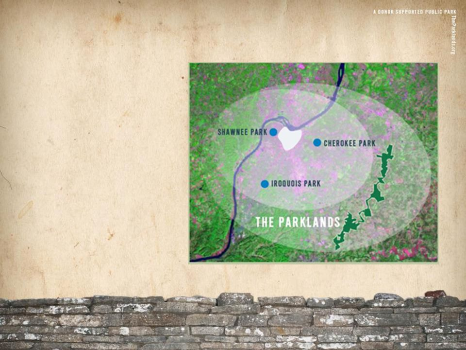 Parklands Project Timeline 1990's Dr.