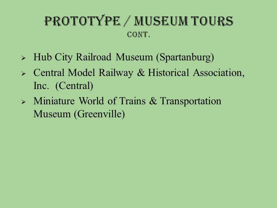  Hub City Railroad Museum (Spartanburg)  Central Model Railway & Historical Association, Inc.