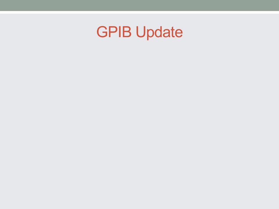 GPIB Update