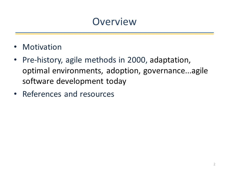 Agile software development impact...
