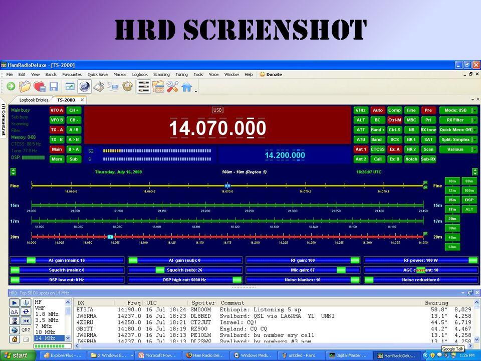 HRD Screenshot