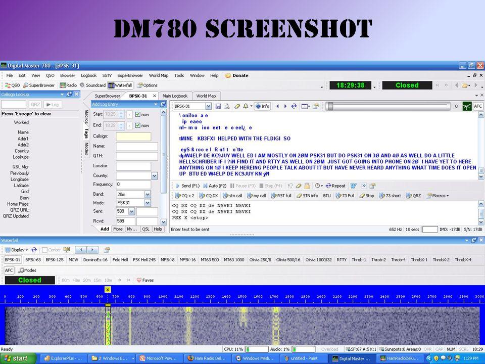 DM780 Screenshot