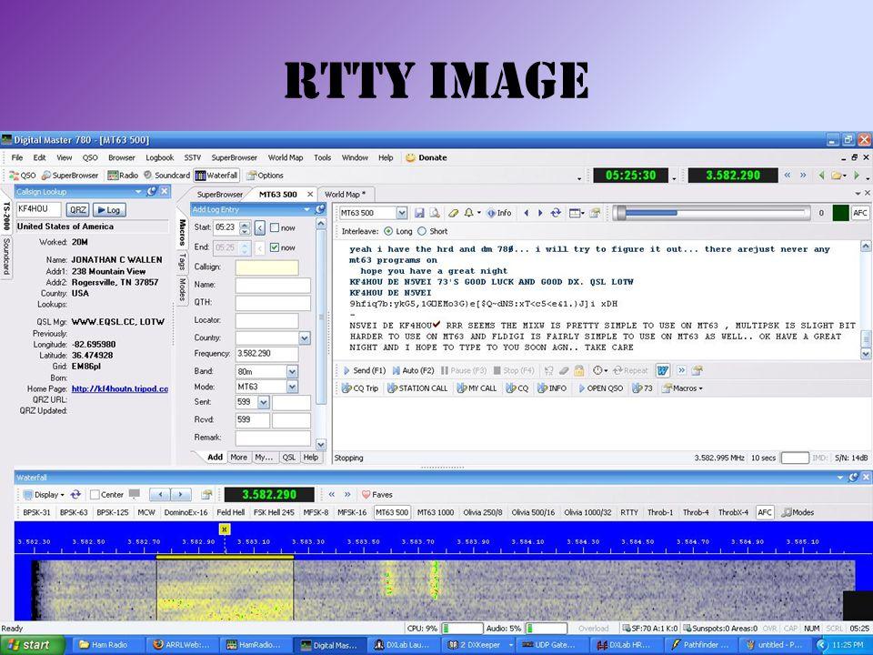 RTTY Image