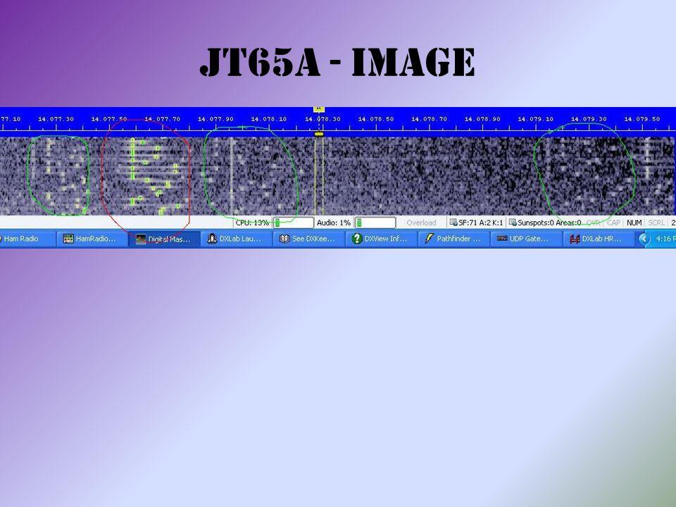 JT65A - Image
