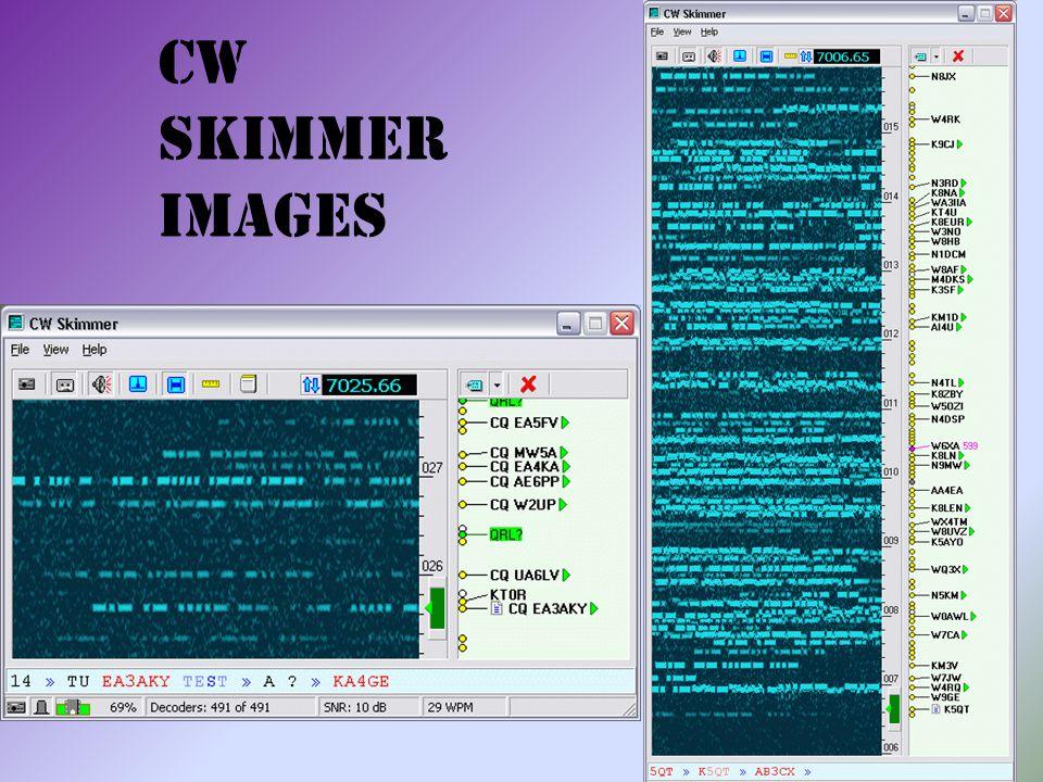 CW Skimmer Images