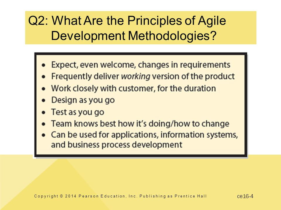 ce16-4 Q2: What Are the Principles of Agile Development Methodologies.