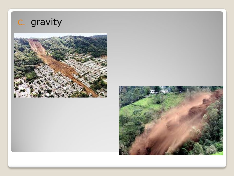 C. gravity