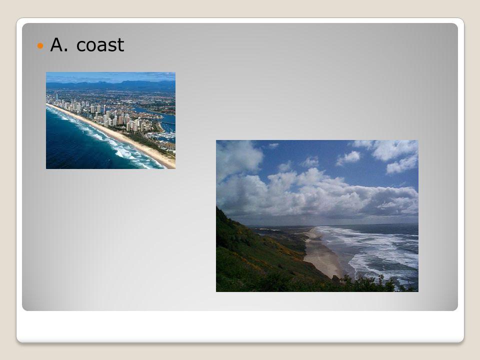 A. coast