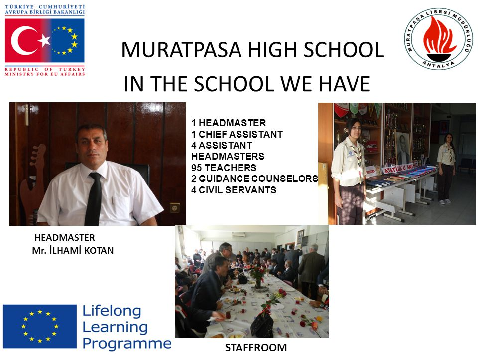 MURATPASA HIGH SCHOOL http://www.muratpasalisesi.k12.tr/