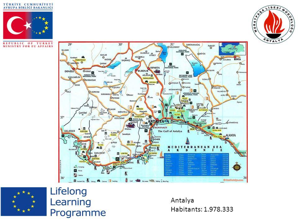 Mediterranean Region Habitants:8 900 000