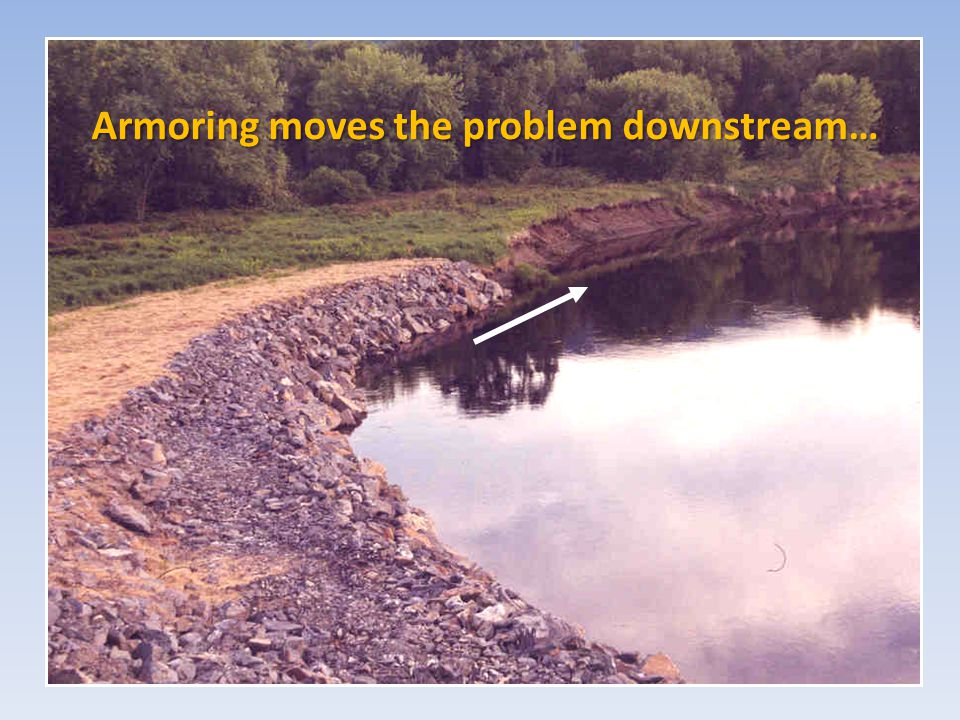 Armoring moves the problem downstream…