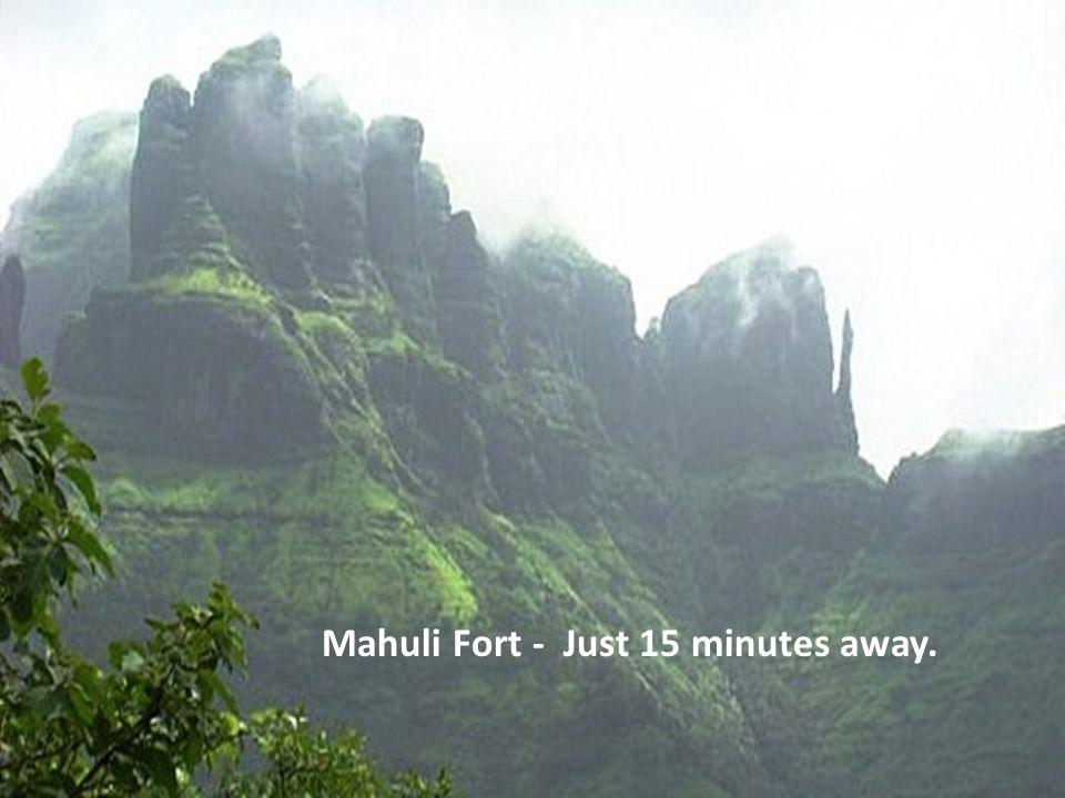 Waterfall At Mahuli Fort.