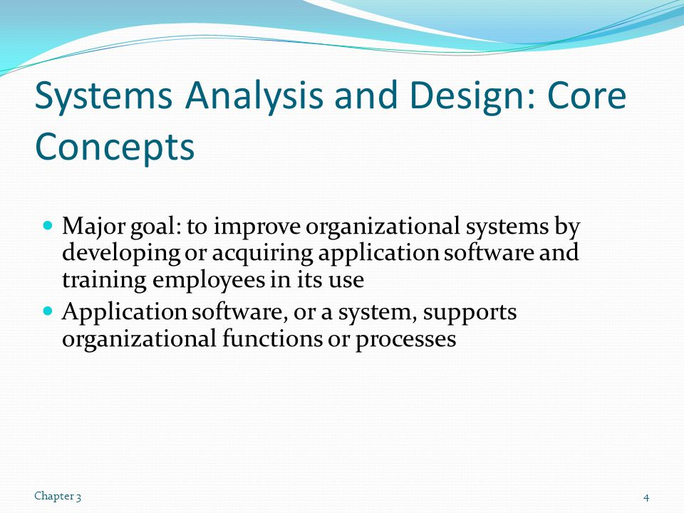 Systems Development Life Cycle (SDLC) Traditional methodology used to develop, maintain, and replace information systems.
