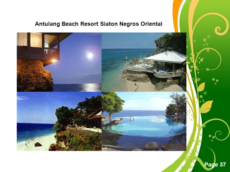 Free Powerpoint Templates Page 37 Antulang Beach Resort Siaton Negros Oriental