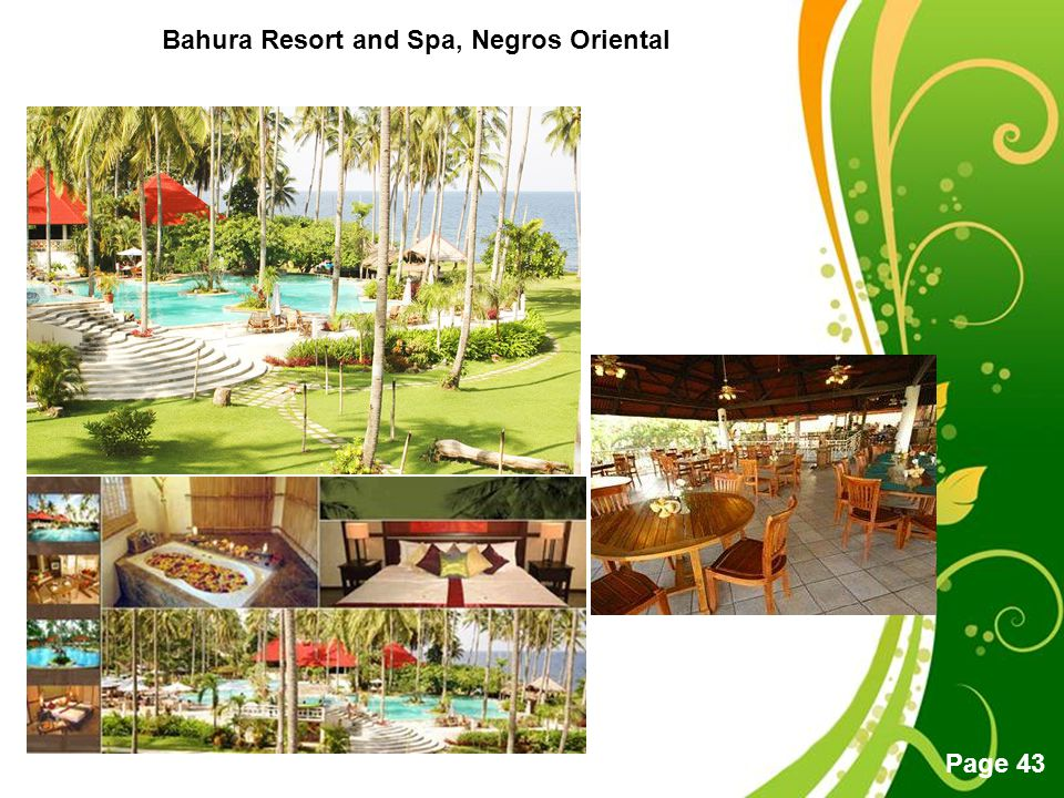 Free Powerpoint Templates Page 43 Bahura Resort and Spa, Negros Oriental