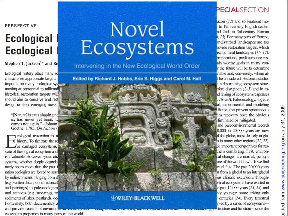 Novel Ecosystem ( 新型生态系统 )