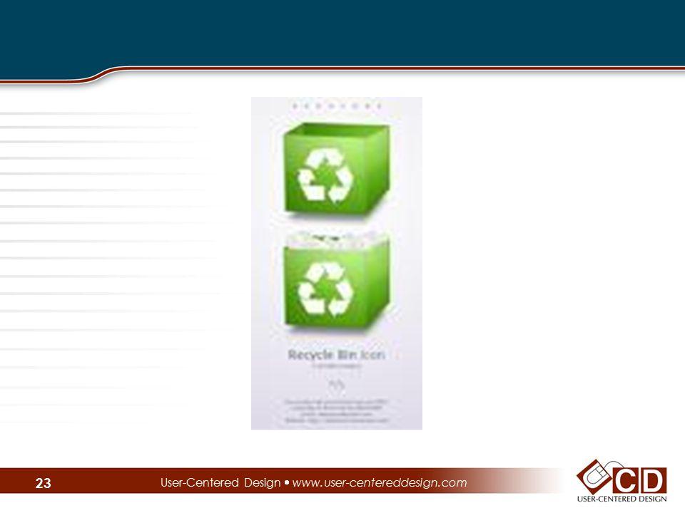 User-Centered Design  www.user-centereddesign.com 23