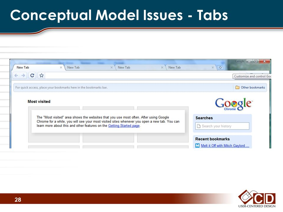 Conceptual Model Issues - Tabs 28