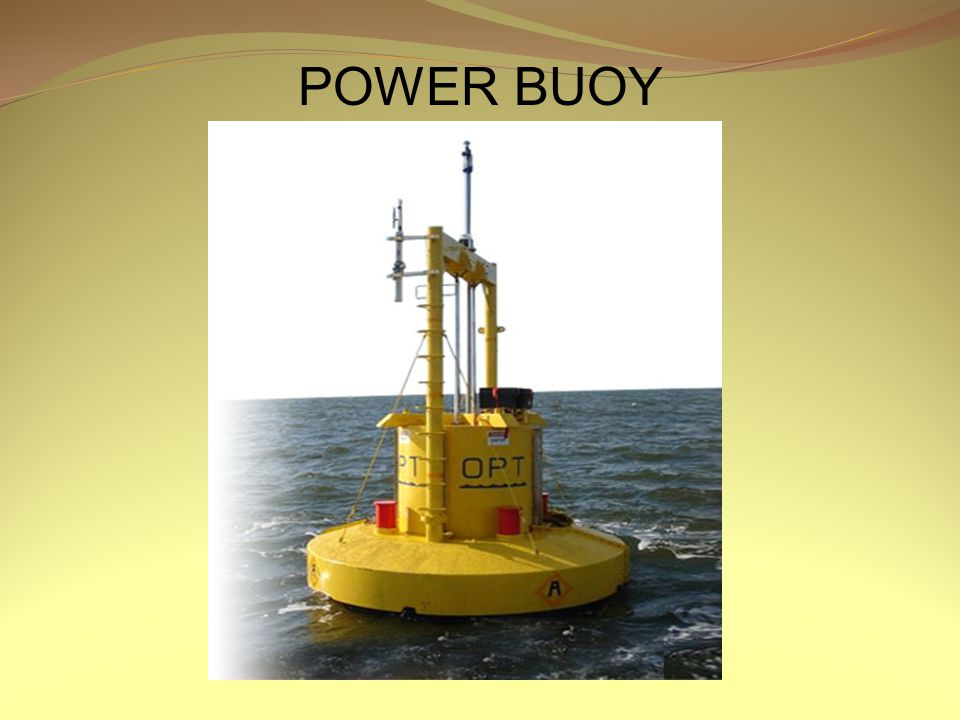 POWER BUOY