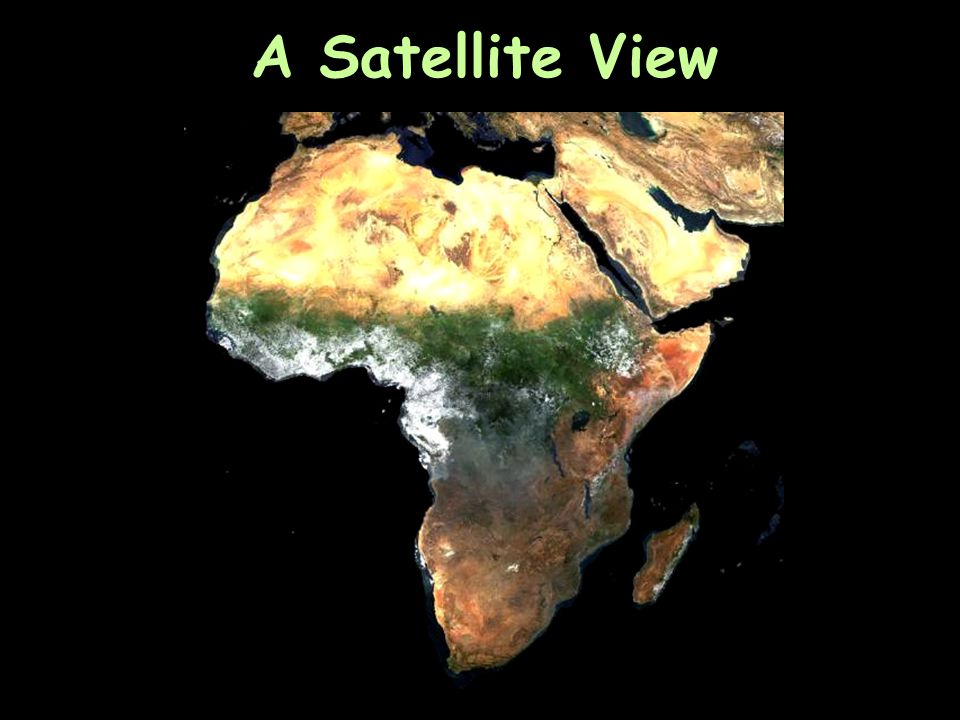 Africa's Size # Second largest continent  11,700,000 sq.