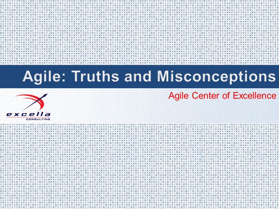 Agile Center of Excellence
