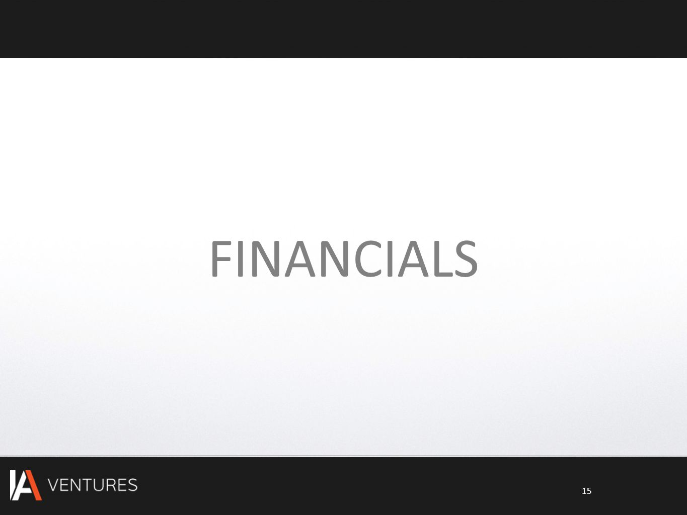 FINANCIALS 15