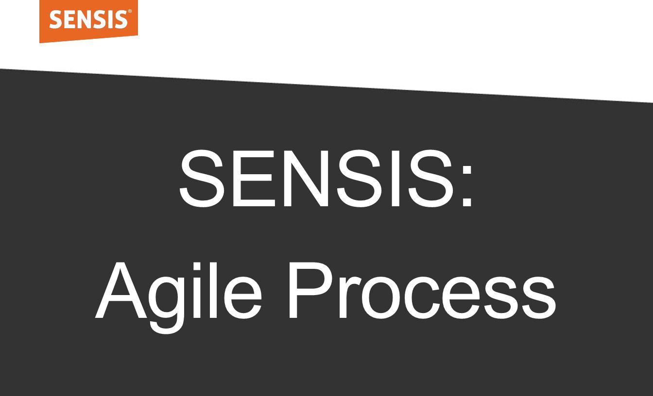 SENSIS: Agile Process