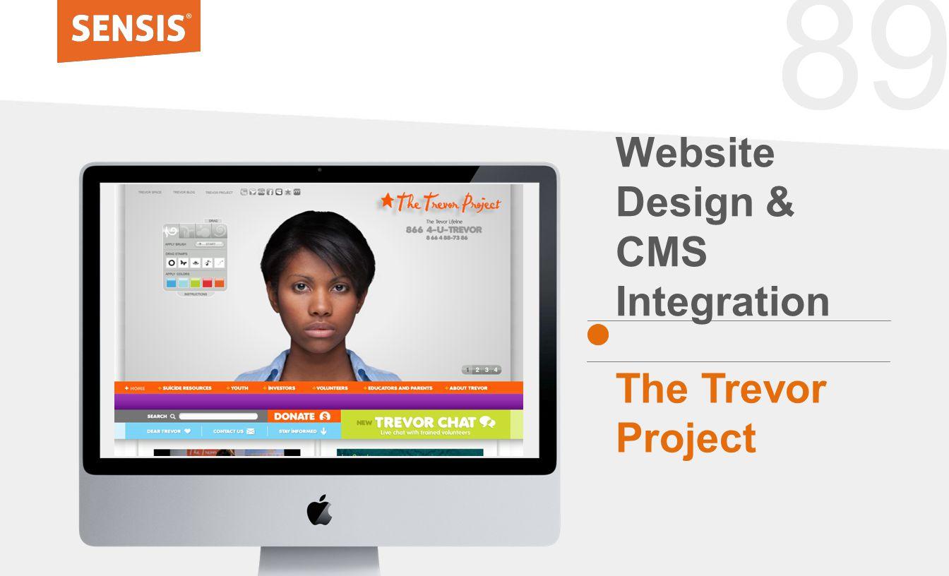 89 Website Design & CMS Integration The Trevor Project