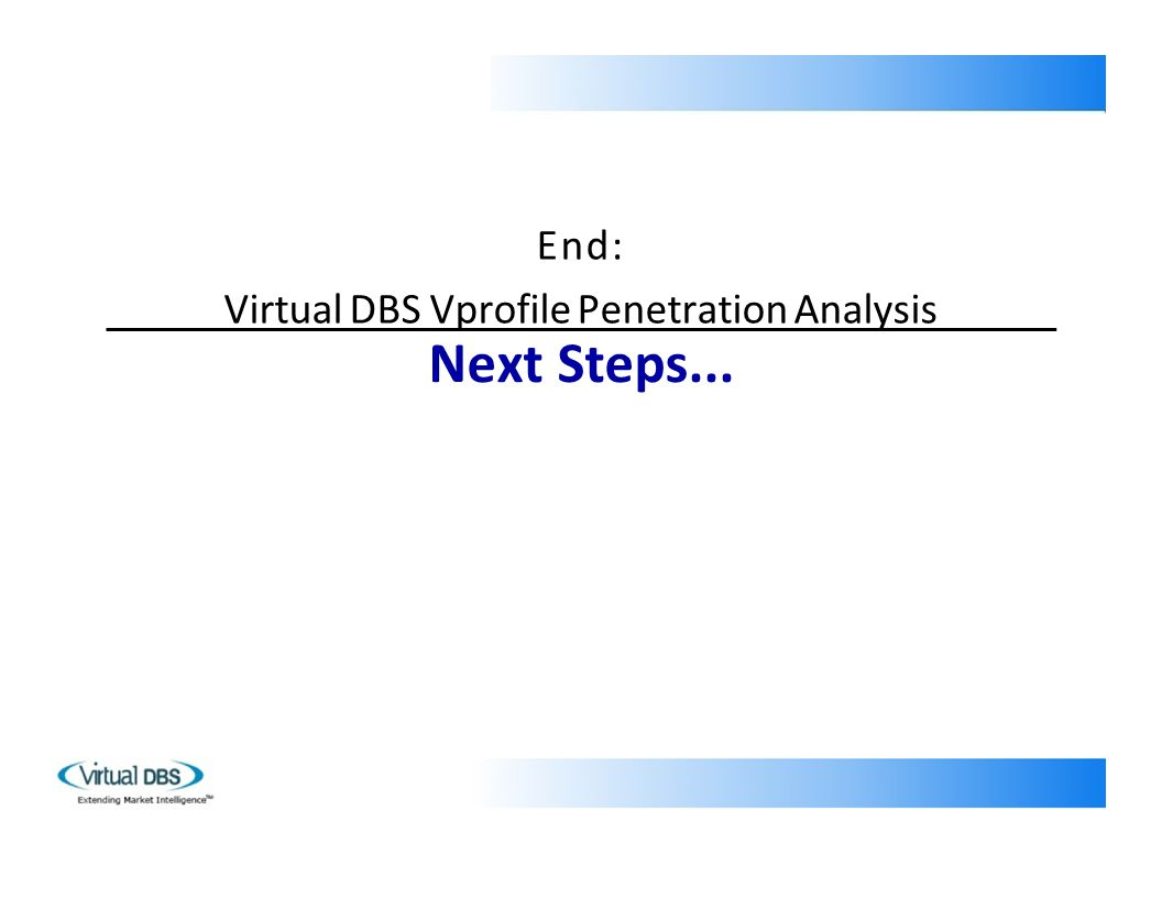 End: Virtual DBS Vprofile Penetration Analysis Next Steps...