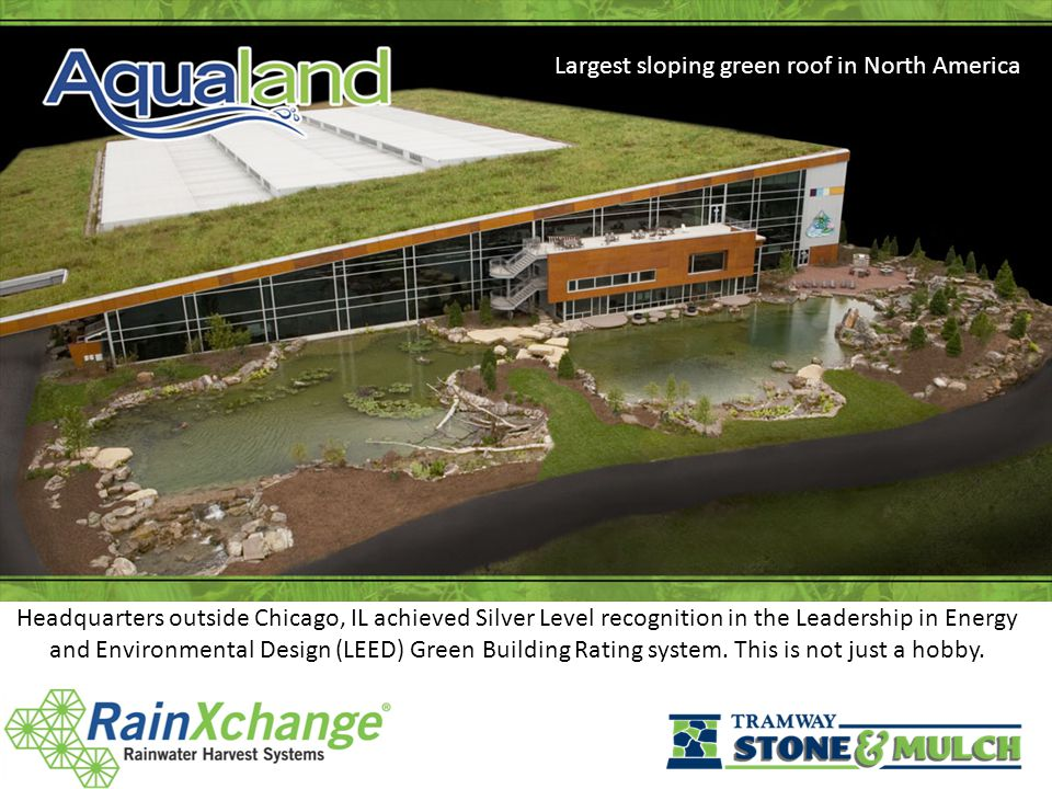 Headquarters outside Chicago, IL achieved Silver Level recognition in the Leadership in Energy and Environmental Design (LEED) Green Building Rating system.