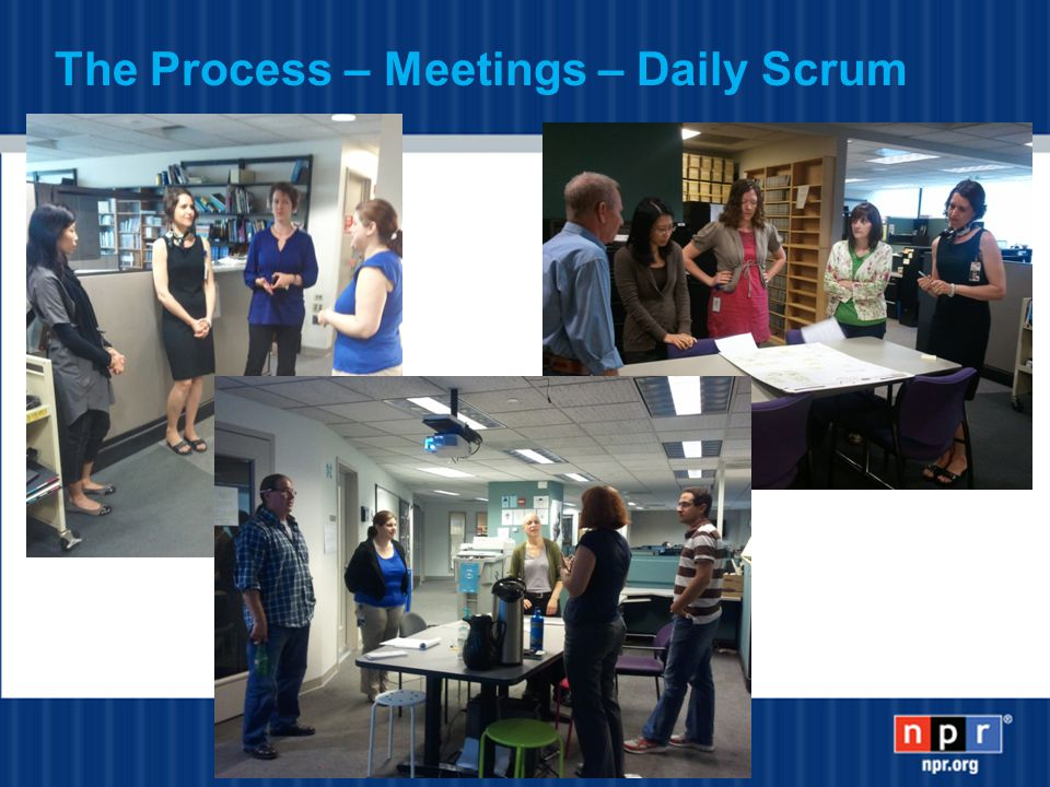 The Process – Meetings – Daily Scrum