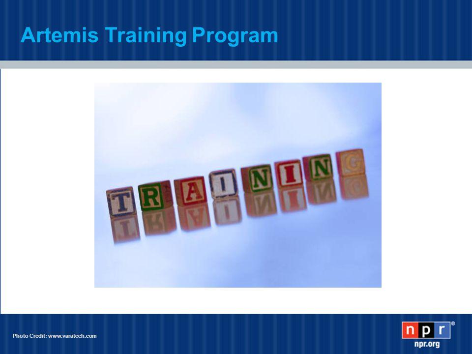 Artemis Training Program Photo Credit: www.varatech.com