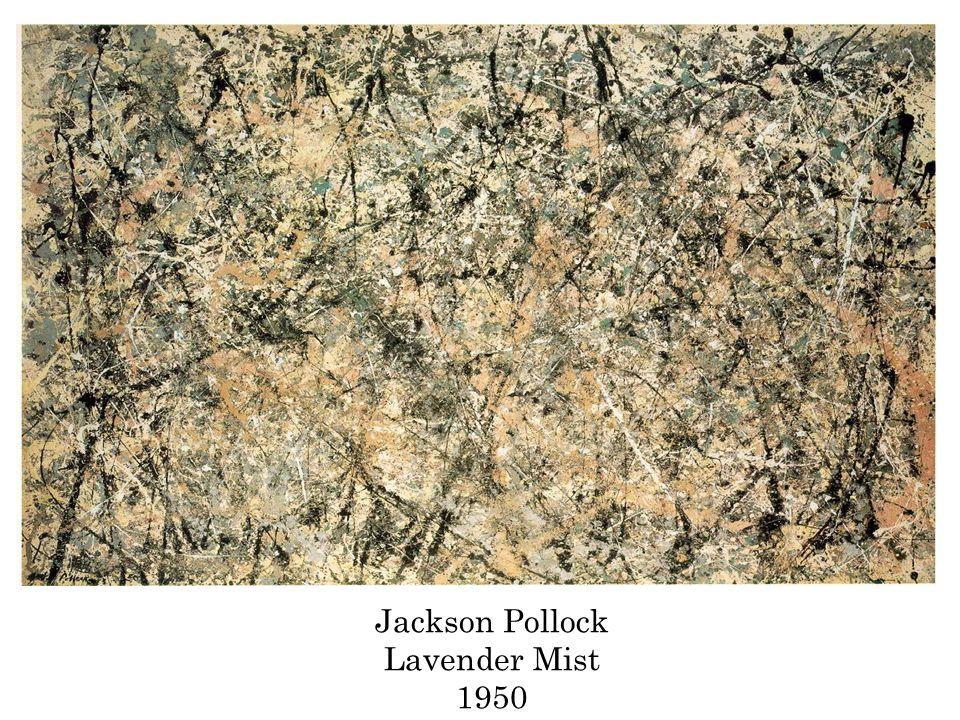 Jackson Pollock Lavender Mist 1950