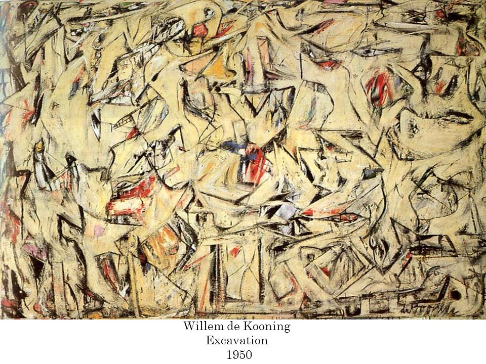 Willem de Kooning Excavation 1950