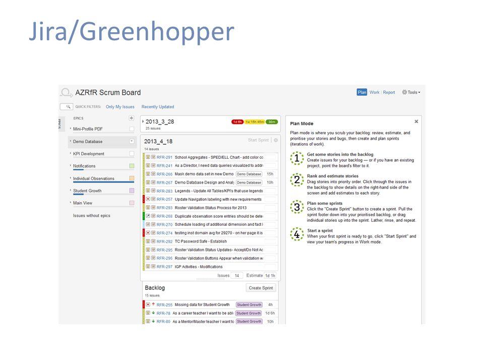 Jira/Greenhopper
