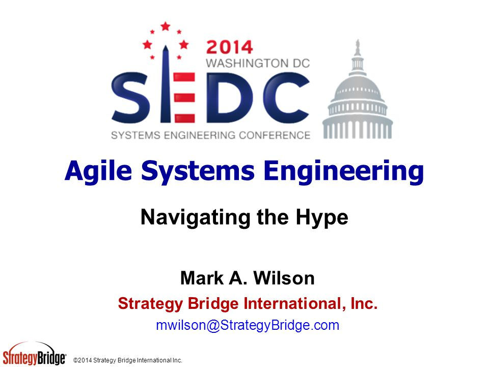 ©2014 Strategy Bridge International Inc.Traditional versus Agile Development Fig.