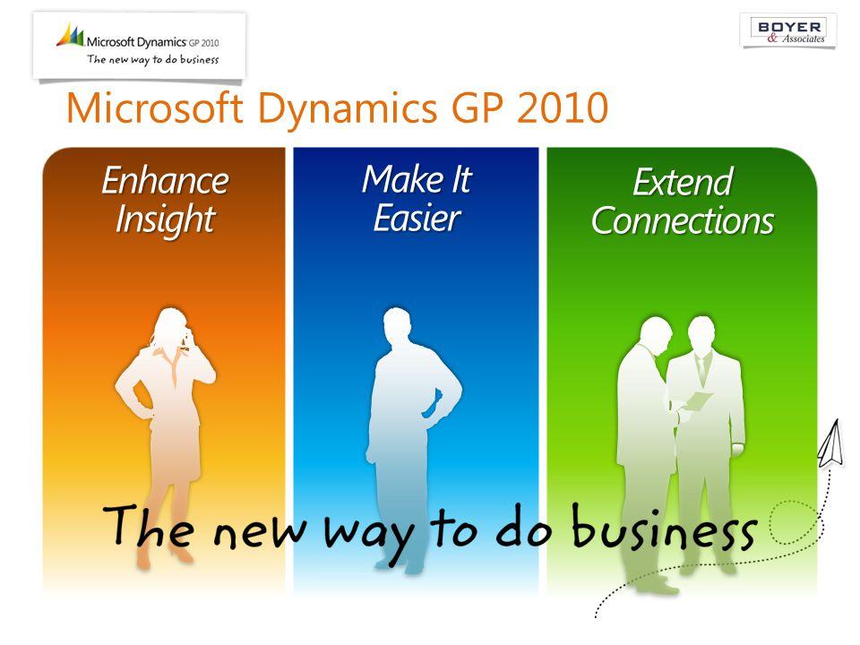 Microsoft Dynamics GP 2010 Make It Easier