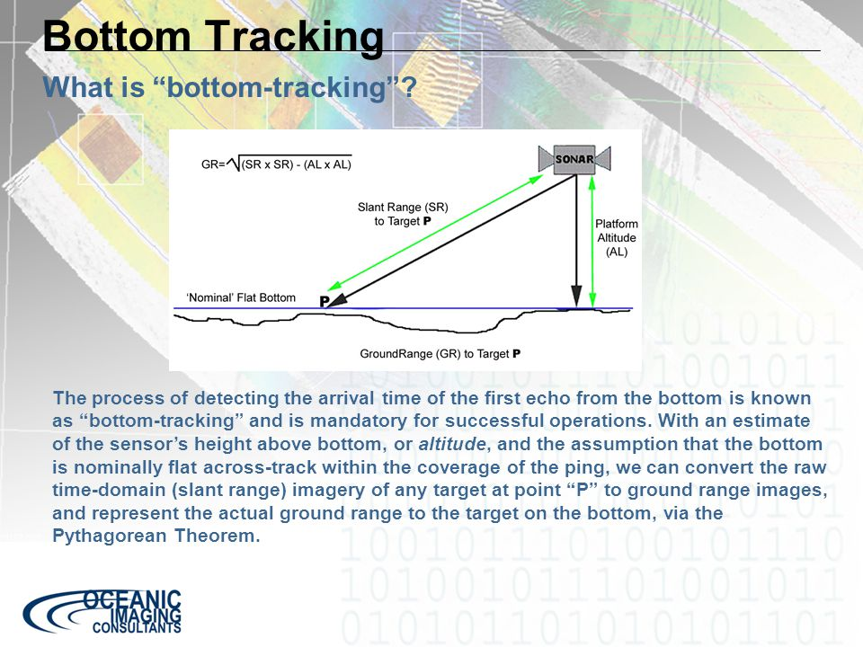 Bottom Tracking What is bottom-tracking .