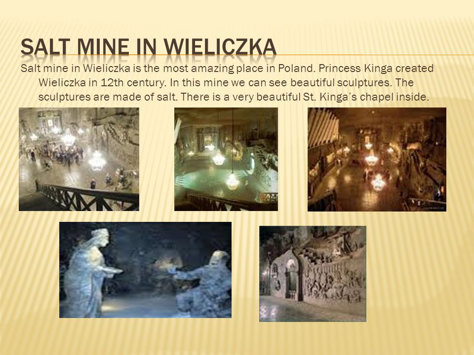 Salt mine in Wieliczka is the most amazing place in Poland.