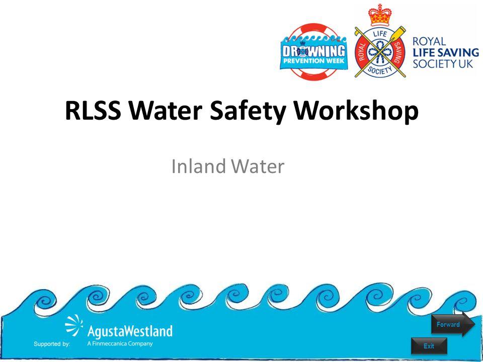 RLSS Water Safety Workshop Inland Water Forward Exit