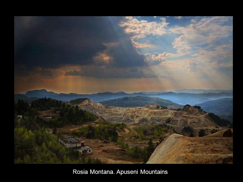 Rosia Montana. Apuseni Mountains